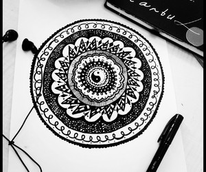art, black, and cool image