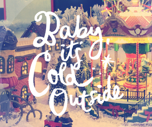 baby, cold, and photography image