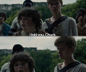 chuck, newt, and thomas sangster image