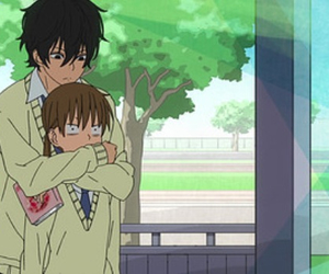 anime, love, and haru image