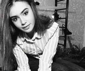 black and white, lily collins, and perfect image