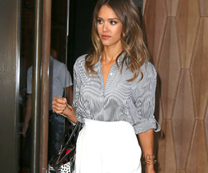 jessica alba and outfit image