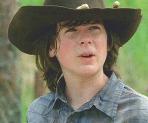 amc, the walking dead, and chandler riggs image