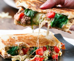 tacos, food, and sandwich image