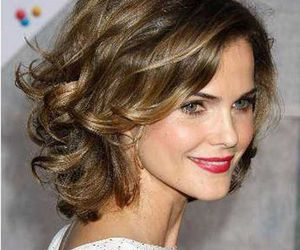 celebrity, hairstyles, and curly image