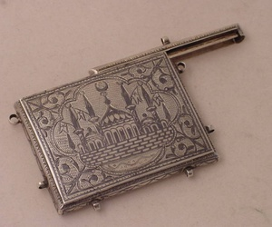 case, quran, and silver image