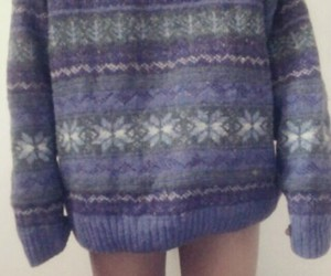 pale, sweater, and cold image
