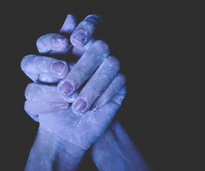 frozen, girl, and hands image