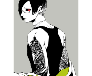 anime, Tattoos, and uta image