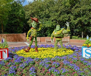 flowers, disney, and toy story image