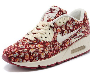 air max, nike, and flowers image
