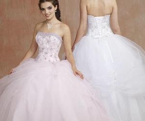 wedding dress ball gown image