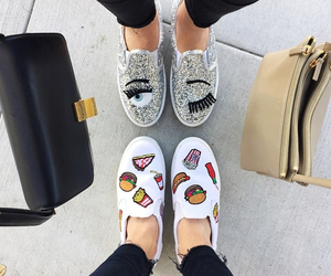 food, shoes, and fashion image