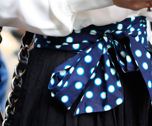 belt, blue, and dots image