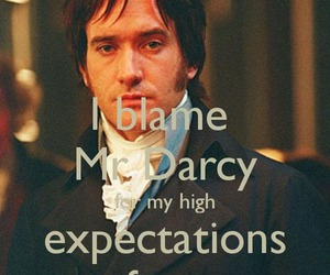 pride and prejudice, mr darcy, and darcy image
