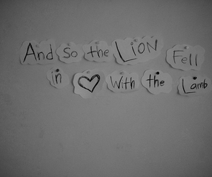 love, twilight, and lion image