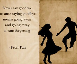 disney, quote, and peter pan image