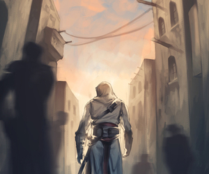wallpaper, assassin's creed, and assassin image