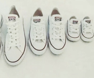 converse, shoes, and family image