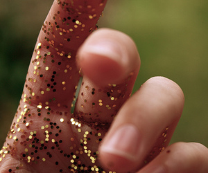 fingers, photography, and glitter image