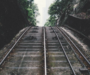 photography, hipster, and train image