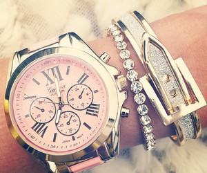 pink and watch image