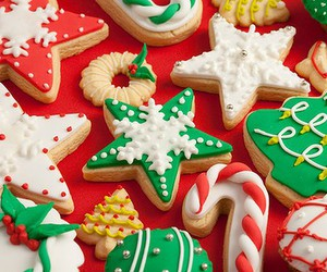biscuits, christmas tree, and white image