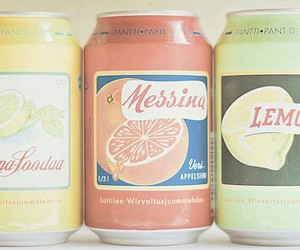 vintage, drink, and pastel image