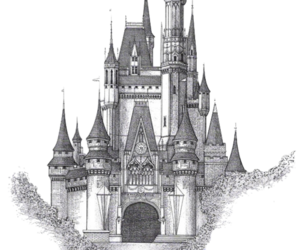 castle and transparent image