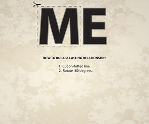 ad, me, and Relationship image