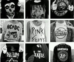 Pink Floyd, nirvana, and ACDC image