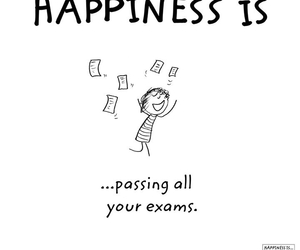 exam, funny, and happiness image