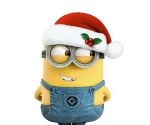 minions, christmas, and despicable me image