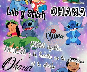 disneychannel, familia, and lilo image