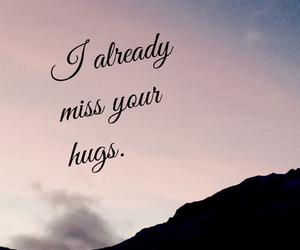 breakup, clouds, and hug image