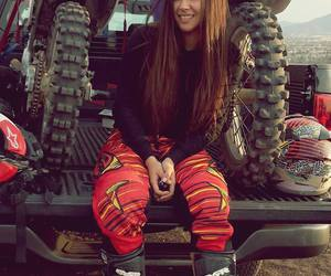 brown, car, and motocross image