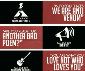fall out boy, death valley, and save rock and roll image