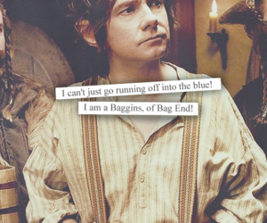 bilbo, the hobbit, and baggins image