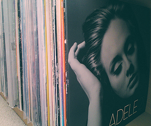 Adele, music, and cd image