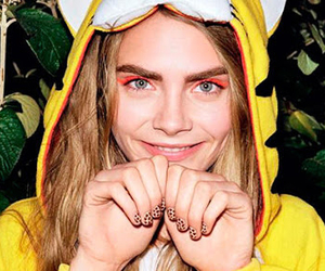 beautiful and cara delevingne image