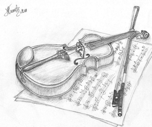 instrument, music, and music notes image