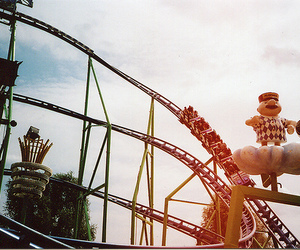photography, indie, and Roller Coaster image