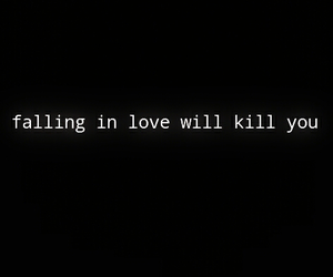 falling, kill, and lovers image