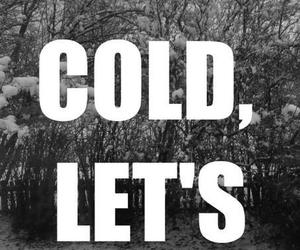 cuddle, cold, and snow image