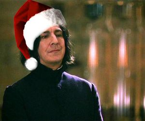 harry potter, new year, and severus snape image