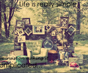 complicated and life image