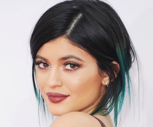 kylie jenner, lips, and hair image