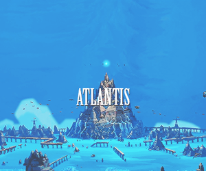 atlantis and disney image