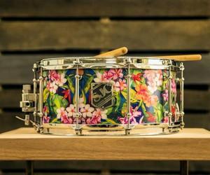 custom, drum, and drummer image
