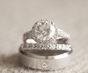 ring, rings, and wedding ring image